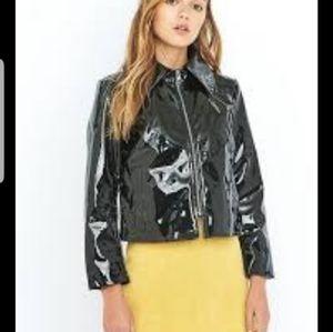 Cheap Monday black faux leather jacket